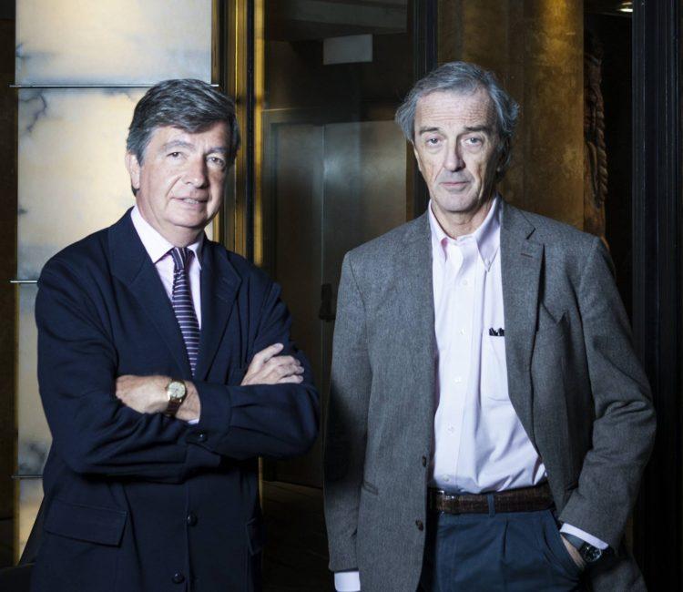 Carlos Lamela y Rafael de La-Hoz. Foto:LINO ESCURÍS